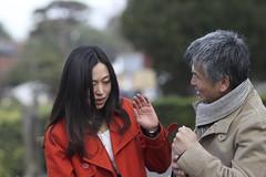 Quarrel? between husband and wife at temple (joka2000) Tags: 東福寺 getty istockphoto couple quarrel