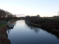 Forth & Clyde Canal at Underwood Lock (luckypenguin) Tags: scotland falkirk forth clyde canal sunset