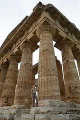 Greek temple at Paestum, Italy (planetphoton) Tags: italy paestum greektemple