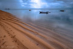 Early morning at the beach (siswanto_p) Tags: ngc beach boat sand morning