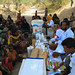 A mobile health extension workers team giving service at Lubakda Kebele of Kori Woreda in Afar Regional state.
