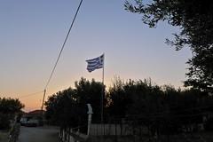 Λύχνα (Fif') Tags: greece grèce griechenland hellás hellas égée aegean 2016 limnos lemnos island île grècque greek λήμνοσ λύχνα lychna flag drapeau zastava