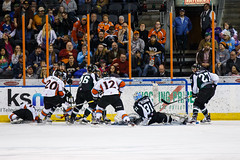 "Missouri Mavericks vs. Utah Grizzlies, December 28, 2016, Silverstein Eye Centers Arena, Independence, Missouri.  Photo: John Howe / Howe Creative Photography • <a style=""font-size:0.8em;"" href=""http://www.flickr.com/photos/134016632@N02/31587630900/"" target=""_blank"">View on Flickr</a>"