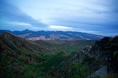 Climbing Diamond Head at Dawn (cookedphotos) Tags: canon 5dmarkii travel hawaii oahu diamondhead crater diamondheadcrater volcano hike hiking dawn
