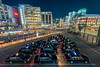Evening At Himeji Station (lestaylorphoto) Tags: japan hyogo himeji station taxi hdr exposure blending travel nikon d610 leslietaylor lestaylorphoto photoshop city buildings cityscape cars 日本 兵庫 姫路 駅 タクシー ニコン テイラー レスリー 旅行