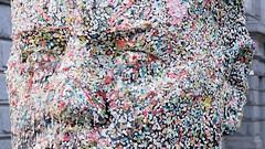 Bubblegum Head - Douglas Coupland (stevecarney) Tags: coupland douglascopeland outdoors sculpture vancouver bubble gum bubblegum street art bc canada