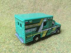 Mattel Matchbox - MBX Heroic Rescue - Ford E-350 Ambulance - Miniature Die Cast Metal Scale Model Emergency Services Vehicle (firehouse.ie) Tags: emt ems vehicle paramedic e350 ford ambulance mbx mbc mattel matchbox