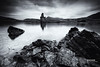Ardvreck Castle (MacLeanPhotographic) Tags: highlands landscape scotland travel loch mono blackandwhite fujifilm xt2 assynt castle ardvreck macleod water ruins fujinonxf1024mmf4rois lee09ndgrad leefilters