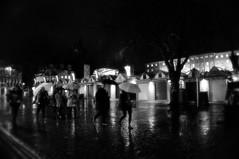 12/366 Umbrellas (denise.ferley) Tags: streetphotography street sonynex5 shopping shoppers watching walking wet rain umbrella uk urban city citylife candid peoplewatching people pavement norwich norwichmarket life bw blackandwhitephotography