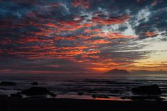 Sunrise 日出龜山|Taiwan Yilan (里卡豆) Tags: 日出 龜山島 taiwan yilan 台灣 宜蘭 外澳 海灘 海 sea olympus penf sunrise dawn 714mmf28pro 714mm f28 pro