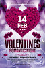 Valentines Day Flyer (AyumaDesign) Tags: advertising flyer flyertemplate flyerparty love loveday heart valentine valentines valentinesday vday couple couopleday red flower floral balloon clean concept art simple minimal february 14february cinta amore aishiteru celebrate celebration event eve night nightclub nightparty light flare