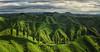 Crumpled Taranaki (Peter Kurdulija) Tags: geo:lat=3906547909 geo:lon=17479742646 geotagged kohuratahi newzealand nzl ohura taranaki new zealand aotearoa north island forgotten world highway 43 scenery landscape dreamscape countryside hills sunrise morning fog low cloud woods forest bush tree shadow white stitch composite panorama nature kurdulija