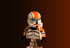 Orange H.O.P.E (NVOP4) Tags: lego star wars clone commando hope squad high orbit precision entry orange clonearmycustoms anothercloneinthewar