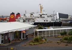 MV Isle of Arran having a rest at the Irish Berth, Ardrossan