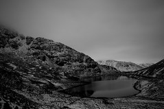 Rest and be thankful (ieuanrogers) Tags: landscape loch lomond longexposure scotland sky mountains bw west argyle bute water