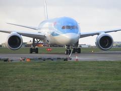 G-TUIC. (aitch tee) Tags: cardiffairport aircraft airliner thomson boeing b7878 dreamliner gtuic cwlegff maesawyrcaerdydd walesuk