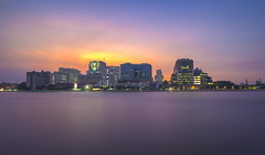 hospital (run.kanchano) Tags: hospital river thailand bangkok siriraj chao twilight praya night sky government phraya water travel health boat architecture view building structure asia medicine medical landmark sunset cityscape skyline light famous landscape city thai design cloudy major people