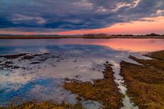 Crepuscular (AvideCai) Tags: avidecai atardecer paisaje agua reflejos cielo nubes laguna sigma1020
