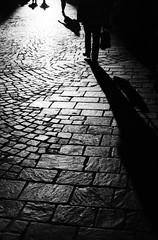 Inconnu (Claudio Taras) Tags: claudio contrasto controluce canona1 5omm taras trier trix400 rodinal 35mmfilm street shadow streetshot bw biancoenero bokeh grain grana germania people persone monocromo