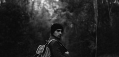 WoodNation (CROYEart) Tags: intothewild wild reckless trees leaves autumn winter coat indie folk bw blackandwhite vsco leica fujifilm men explore traveller wonderer discover