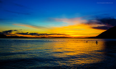 ATARDECER EN LICAN RAY (Mauricio Vega Larrea) Tags: licánray pueblo ubicado enlaribera norte del lago calafquén partedelacomunadevillarrica región araucanía chile villarica licanray sur atradecer sunset azul cielo nikon d7100 1020 sigma noche sol amarillo lican ray comuna ciudad