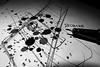 Stains (Alfredo Liverani) Tags: macromondays macro mondays bw monochrome spot spots macchia macchie biancoenero monocromo bianco nero bn black white blackandwhite blackwhite neroametà