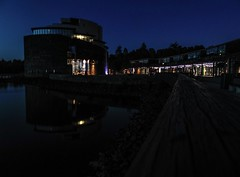 so close but so far (NoOneLikeMe78) Tags: reflection night reflections reflecting scotland sony architect balloch lochlomond sealifeaquarium marilynconnor