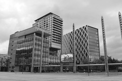 The Studios (Tony Worrall Foto) Tags: county city uk england urban architecture modern buildings manchester tv stream tour open place northwest unitedkingdom country north visit location bbc area highrise tall studios northern update salford attraction manc gmr mediacity welovethenorth 2015tonyworrall