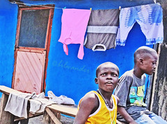Ghana (bilwander) Tags: africa travel boys town ghana solo shanty jamestown slum accra bilwander usshertown g