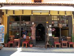 Traditional kafenion (pefkosmad) Tags: vacation holiday cafe hellas streetlife medieval greece greekislands griechenland rodos rhodes turkish rhodestown rhodesoldtown dodecanese kafenion socratousstreet rhodes2015