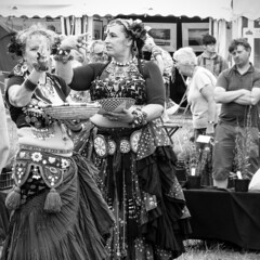 Exeter Craft Fair (markplymouth) Tags: uk woman dance women dress bellydancer dancer devon exeter bellydance gown markplymouth