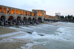 Iran_6640 (DavorR) Tags: bridge river iran most esfahan isfahan rijeka khajoo persianarchitecture khajubridge