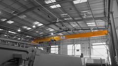 10 tonne Overhead Crane with SWF Hoist