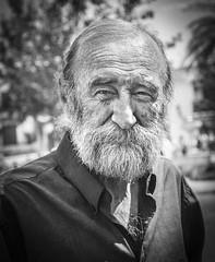 Julio (Jose Mara Ruiz) Tags: espaa white black blancoynegro blanco spain mayor negro andalucia personas poesia andalusia anciano anciana viejo mijas poeta ancianos blanckandwhite duelos goldcruzadasi