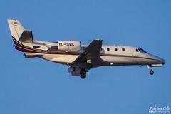 Private --- Cessna 560XL Citation XLS --- YU-SMK (Drinu C) Tags: plane private aircraft aviation sony dsc cessna citation mla bizjet privatejet xls 560xl lmml hx100v yusmk adrianciliaphotography