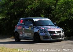 203-DSC_6427 - Suzuki Swift - R1B - Vallino Claudio-Desole Tiziana - Meteco Corse (pietroz) Tags: photo nikon foto photos rally fotos di pietro circuito cremona zoccola pietroz d300s