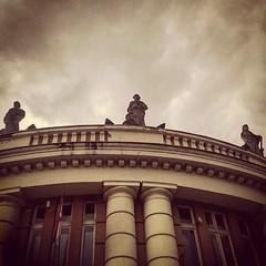 (ivan-95) Tags: sky building architecture clouds roman guard srbija smederevo