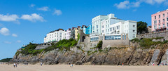 SCE_3347 (staneastwood) Tags: cliff building beach wales architecture buildings coast town westwales outdoor steps victorian pembrokeshire tenby clifftop southwestwales staneastwood stanleyeastwood