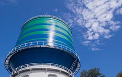 Wasserturm in Herten-Scherlebeck