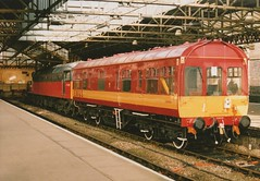 """Parcels Class 47/4, 47635 & Inspection Saloon DB 999504 (37190 """"Dalzell"""") Tags: original spoon brush management crewe duff sulzer ews class47 type4 47029 redgrey maroongold class474 inspectionsaloon 47635 englishwelshscottishrailway d1606 parcelssector db999504"""