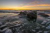 Waiting For The Moment (JeffMoreau) Tags: folly beach rocks sunrise south carolina landscape charleston sony a7ii ocean zeiss 1635