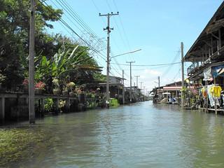 Damnoen Saduak Floating Market, Bangkok, March 2009