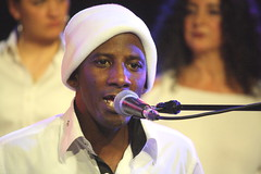 London Lucumi Choir (2016) 11 (KM's Live Music shots) Tags: worldmusic cuba afrocubanmusic choir orishasongs londonlucumichoir yosvanidiaz fridaytonic southbankcentre