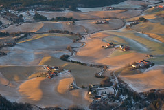 Winter landscape without snow (Snorre t.) Tags: visitnorway farmlands winterlandscapes osloairport norway aerials