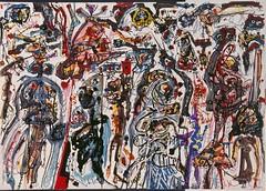 colin-vian: Antonio Saura, Mutación, 1960. Técnica mixta y collage sobre papel, 69,4 x 99 cm, Museo Nacional Centro de Arte Reina Sofía, Madrid (ArtAppreciated) Tags: fineart painting blogs tumblr artblogs artappreciated artoftheday artofdarkness artofdarknessco artofdarknessblog