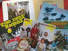 Christmas Music (Multielvi) Tags: christmas holiday music record album cover vinyl nrbq chris stamey evan johns beach boys freddy fender merry happy rockroll lp 3313