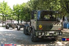BDQJ09-4029 RENAULT G290 VTL (milinme.myjpo) Tags: frencharmy renault g290 vtl véhicule de transport logistique remorque rm19 trailer bastilleday
