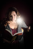 Light Reading (Adam Diamond Photography) Tags: harrypotter magic reading photography books canon light shadows hogwarts wizards witch portrait wand spell canon5d 70200 selfie