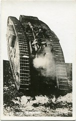 WWI 66.B2.F7.7 (State Archives of North Carolina) Tags: tank armouredwarfare armoredwarfare thegreatwar greatwar worldwari worldwarone thefirstworldwar wwi ww1