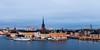 Stockholm (diesmali) Tags: stockholm stockholmslän sweden riddarholmen riddarholmskyrkan gamlastan oldtown city houses water church sky bluehour canoneos6d sverige canonef24105mmf4lisusm